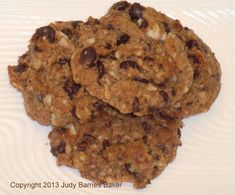 CARB WARS BLOG: COOKIES FOR EVERYONE - Chewy Chunky! - recipe is very forgiving and almost everything can be replaced with something similar.