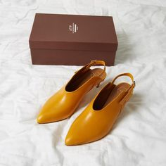 Want new shoes that aren't black? Try Marigold yellow! You need these ATP Abra Pumps