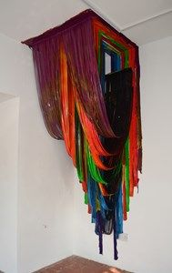 """Installation art by Jonathan Gabb, artist from London, UK. """" Since graduating from The Cass School of Art in Jonathan has been recipient of a number of highly-coveted and competitive awards,. Original Paintings, Original Art, Textile Sculpture, Artistic Installation, 3d Wall Art, Best Portraits, Wow Art, Textiles, Art Lesson Plans"""