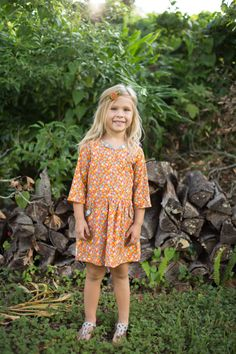 Fall clothes for girls girls Thanksgiving outfit by UpperLooper
