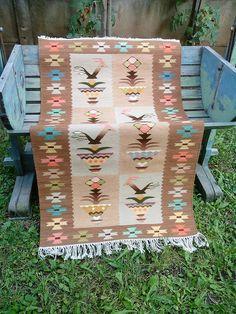 Handwoven rug handwoven wool rug Chiprovtsi kilim rug by RugsNBags