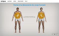 Page d'accueil du site Corpus