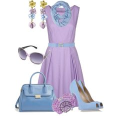 """""""Lavender in Summer"""" by maggie478 on Polyvore"""