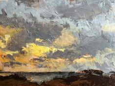 Sunset Over the Rocks -- David Boyd, Jr