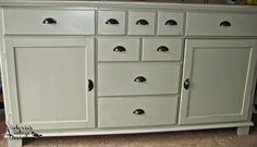 Victoria's Vintage Designs: Custom Green Media Cabinet {Custom Order}