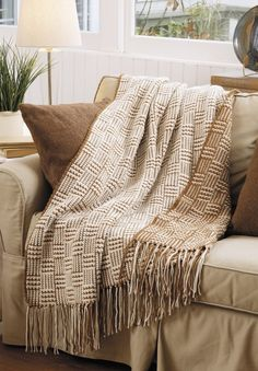 Twice As Nice Decor eBook - For instant versatility in home decor, these five crochet designs by Kathryn Clark all feature reversible qualities that make them twice as nice. The effect is created when you alternate yarn colors on each row, resulting in the pattern emphasizing a different color on each side. For example, the Checkered Afghan in brown and off-white yarns looks checkered on both sides but appears predominantly brown on one side and predominantly off-white on the other. 5…