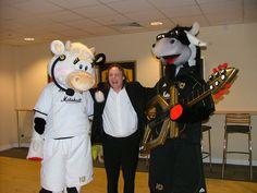 Donnie & Mooie  #cow #mascot #costumes