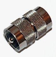 UHF Male to Male Coupler - Gender Changer Male To Male, Ham Radio, Brass Metal, Plating, Gender, Music Genre