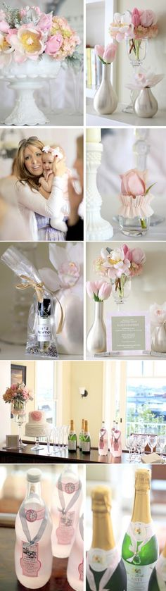 coco chanel baby shower. The EXACT theme that inspired my first baby shower. :)