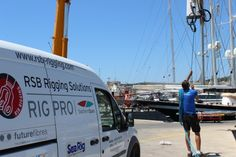 @RSBRigging has completed the building, prepping, restepping and retuning of the rig on #SYAnnaChristina, the 42m #Jongert.     www.rsb-rigging.com #RSBRigging   #meettheriggers
