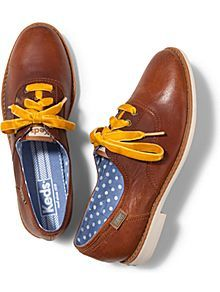 Keds Boyfriend Leather oxford girly flats