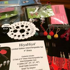 HiyaHiya Sharp Steel Interchangeable Set We love this picture which from @issuegirl1974 ! A Knitters dream come true! My first major investment in my passion, my love --- @issuegirl1974 (Instagram Name) said.