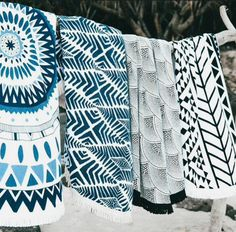 in a row, ready to go! #theoriginalroundie The Beach People