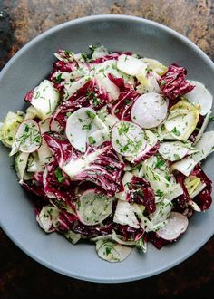 Recipe: Bar Tartine's Chicory Salad with Anchovy Dressing