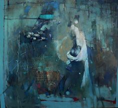 "Waclaw Sporski ""Desire"" 100х90 Oil On Canvas sporskiart.com"