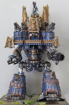 "Another interresting Warhammer design ""Imperial Imperator Titan"""