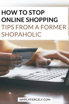 "If you've ever asked yourself, ""Why can't I stop online shopping?"" this is for you. Before you click ""add to cart"", read these helpful tips from a reformed shopaholic on how to stop online shopping. It's time to break your online shopping habit for good this year. Shopping Hacks, Online Shopping, Break A Habit, Budgeting Tips, Finance Tips, Helpful Tips, Personal Finance, Good Books, Cart"
