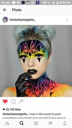 Kimberly Margarita Makeup (Inspo)