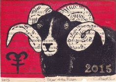 Chinese New Year & 2015 is the year of the ram/sheep/goat.