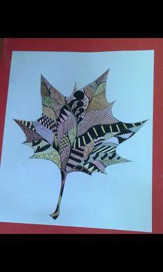 Doodle leaf...