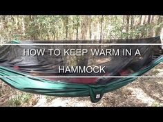 Staying Warm In A Hammock – Even In Winter! - Made In The Shade Hammocks
