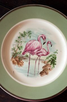 Awesome Vintage Decorative Florida Plate with by ArtoftheFind, $15.00