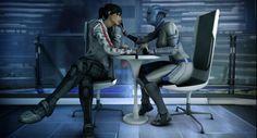 Shepard and Liara
