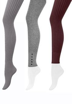 Strumpfhosen Strick - Strumpfhosen 2010 - Für alle Frostbeulen unter uns gibt es Entwarnung: Sie müssen 2010 auch bei kalten Temperaturen nicht darauf verzichten, Bein zu zeigen. Die Lösung: Strickstrumpfhosen...