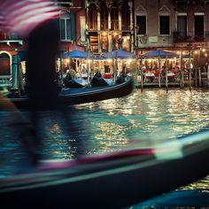 Italy / Venice / Travel / Photography: Some amazing movement and light in this shot.  ► You can now follow my latest photos on Tumblr     Travel  countries  cruises  flying  raill  boating  cycling  walking  asia  europe  usa  uk  russia  south america