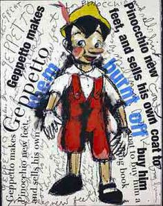 Pinocchio, Jim Dine