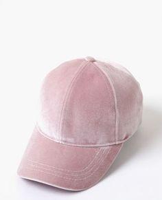 4d18916d0c0d Casquette velours rose Sunnies, Cap, Bonnets, Outfits, Pink Velvet, Women  Hat