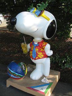 """""""Snoopy"""" - Joe Cool Summer - Santa Rosa, California"""