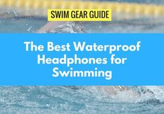 Need a little extra push to crush today's swim practice? Here's your ultimate breakdown of the best waterproof headphones for swimmers. Fitness Tracker Reviews, Best Fitness Tracker, Waterproof Fitness Tracker, Fitness Watches For Women, Swimming Gear, Swimming Workouts, Waterproof Headphones, Fun Workouts, Workout Fun