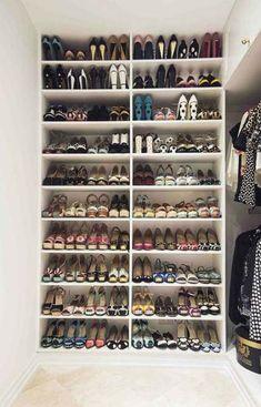 Shoe Storage Trendy walk in closet diy small shoe racks ideas The History And Evolution Walk In Closet Diy, Closet Shoe Storage, Closet Small, Small Shoe Rack, Diy Shoe Rack, Shoe Racks, Shoe Storage Design, Shoe Storage Small, Diy Storage