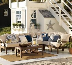 Nautical outdoor living