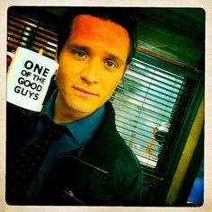 One of the good guys :)  Kevin Ryan (Seamus Dever)  Castle