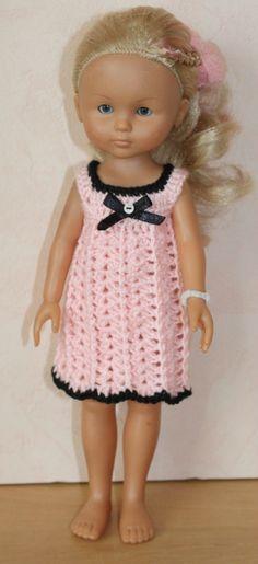 tuto robe rose et noir pour camille