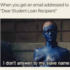 #student loans...
