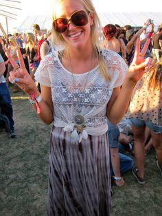 peace love and #coachella