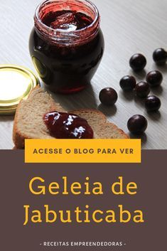 Jelly Recipes, New Recipes, Jam And Jelly, Fruit Trees, Chutney, Donuts, Good Food, Food And Drink, Pudding