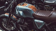 Motorcycle Exhibition in London Celebrates the Underground Custom Scene - Photography by Laurent Nivalle Tracker Motorcycle, Motorcycle Events, Moto Bike, Motorcycle Outfit, Martini Racing, Custom Motorcycles, Custom Bikes, Bobber, Moto Guzzi V7 Classic