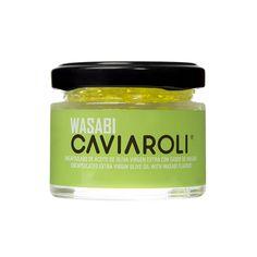 Caviar de Azeite e Wasabi Creative Gourmet, Sushi, Olive Oil, Coconut Oil, Jar, Food, Salads, Soups, Appetizers