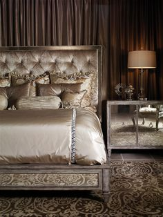 hollywood glamour decorating | ... Design Quarter » Marge Carson presents Design Folio Hollywood Glamour