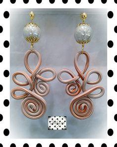 Polymer clay earrings by ghjrigori on Etsy, $41.00
