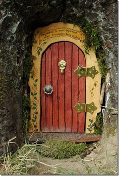 A Fairies Entrance.......Magical !
