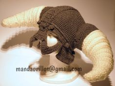gran vikingo. gorro de lana hecho a mano.