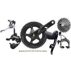 Bike24 - SRAM Force 22 Gruppe 2x11 kompakt - GXP - mit mechanischen Felgenbremsen
