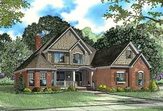 Craftsman Home Plan with Unique Exterior - 59882ND | Architectural Designs - House Plans