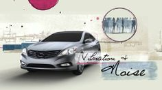 Hyundai Azera: How loud can you make noise? The Beautifully Quiet