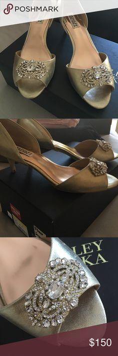 Badgley Mischka Heels Brand new! Comes with box and everything. Badgley Mischka Shoes Heels